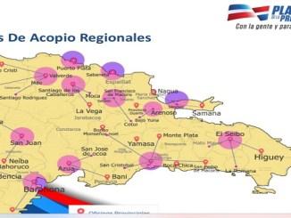 NTROS DE ACOPIO REGIONALES