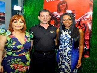 Rommy Grullón, Nicolás de Simone y Ely Laura Constantinescu.