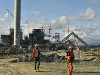 La planta se construye a seis metros sobre el nivel, dijo el administrador de la termoeléctrica.