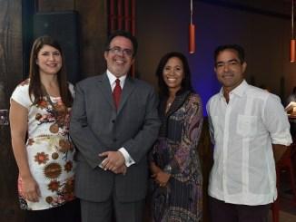 Lashmi Desangles, Luis Rodríguez Gutiérrez, María Vásquez y Rafa Selman