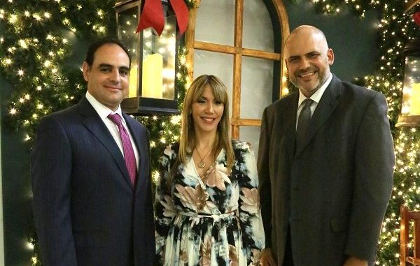 Miguel Fernández, Yill Odreman y Juan Garza