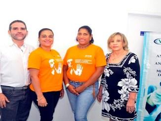 Jorge Alfaro, Gianna Tapia, Wardy Lebron y Marisela ValdezAguasvivas.