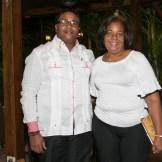 Fabián Rondon y Lidia Pereyra