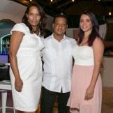 Hiodaliz Perez, Franklin Torres y Ingrid Rojo