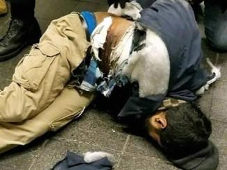El atacante resultó herido al estallar el explosivo que llevaba pegado a su cuerpo.