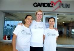 Stefania Tome, Judith Fromm y Patricia Alvarez