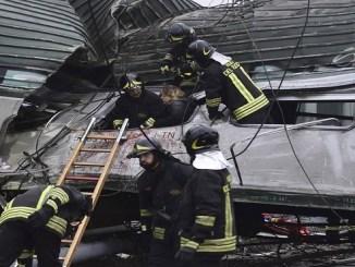 El accidente tuvo lugar en la estación Pioltello Limito a primera hora de la mañana