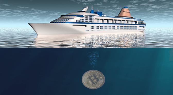 Bitcoin se hunde mientras sus defensores se pasean en barco