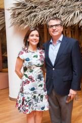 Michelle de Franco y Ramón Franco