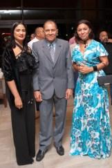 Leticia Moronta, Iturbides Zaldívar y Magdalena Ovalle de Zaldívar.