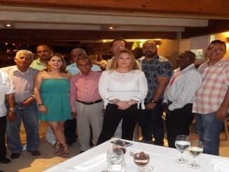 Miembros de la prensa de Higuey y Punta Cana