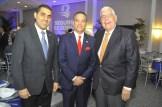 Robinson Portorreal, Rienzi Pared Pérez y José Mallen.