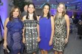 Laura Izquierdo, Patricia Vargas, Sulgenia Uceta y Marjorie Valdez.