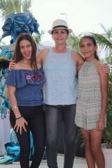 Gabriela Severino, Daniela Leonardo y Sandra Almanzar
