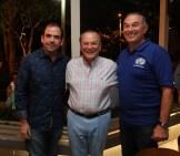 Giovanni Rainieri, Frank Rainieri y Antonio Yapor