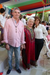Julio Cordero, Milagros Ortiz Bosch, Patrícia de Jiménez