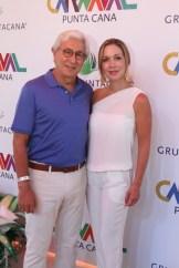 Luis Eduardo Martínez y Maria Bahemon