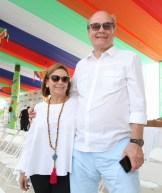 Per- Erick Berglund y Virginia Hernández