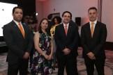 Carlo Arturo, Dominga Franco, Roberto Millán y Alberto Labadía