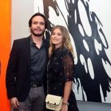 José Geraldino y Karin Cividanes.