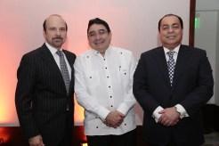Luis José Asilis, Miguel Calzada y Diego de Moya.