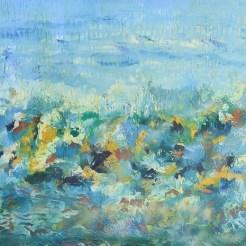 Una de las obras que integra Pachamma de Michel Bizet.