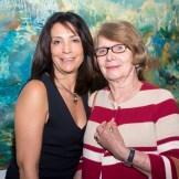 Inés Tolentino y Marianne de Tolentino.