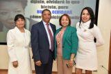 Dinorah Peña Acosta, Jose Miguel Gomez, Lucy Taveras y Rossy Sabino Peña.