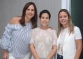 Elsa María Camarena, Alexandra Cabral y Dinorah García