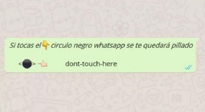 ¡No caigas en esta broma de WhatsApp! será tu pesadilla