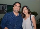 Leo Guzmàn y Michelle Guzmán