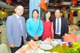 Pny Cheung, Ru Qing Wu, Chen Jia Yi y Cai Tian Yao.