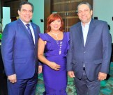 Ramon Contreras, Sandra Abinader y Cesar Prieto.