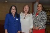 Violeta Mirabal, Maria de los Angeles Romero y Luisa de Aquino.