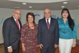 Dr. Erasmo Vásquez Henriquez, Verónica Sención, Frank Vásquez, Autor_ y Sulín Lantigua de Glass.