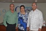 Bolivar Vasquez,Luisa Comarazamy de Vasquez y V idal Radhames Vasquez.