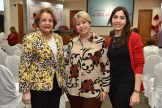 Nieves Colombani, Rosa Guzman y Katia Guzman.