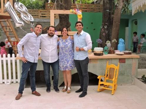 Jose Camilo, Jorge Chame, Alby Crespo, Ricky Camilo