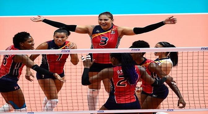 Las Reinas del Caribe barren a Argentina y consiguen primer triunfo en Liga de Naciones