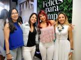 Anibelka López, Anabel Santana, Laura Díaz y Gipsy Guilliani.