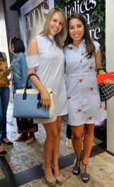 Andri Ortega y Adriana Peguero.