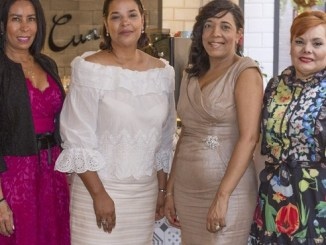 Grisel Sánchez, Yvette Marichal, Julissa Rumaldo y Rommy Grullón