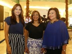 Celeste Pérez, Ivelisse Villegas y Cándida Ortega