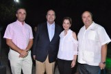 Cesar Herrera, Fabio Herrera Roa, Lucia Amelia Cabral y Fabio Herrera