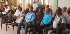 Parte de los periodistas presentes en la jornada de capacitación de Adompretur en Pedernales