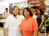 Sinthia Sánchez y Zoila Puello