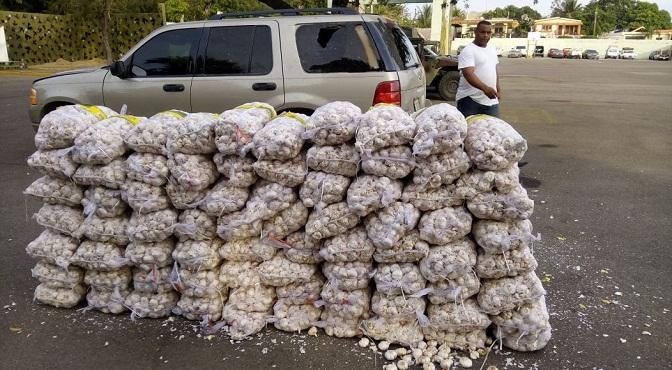 Ejército decomisa mercancías de contrabando en diferentes operativos en el área de responsabilidad de la 4ta. Brigada de Infantería, en la zona fronteriza del País