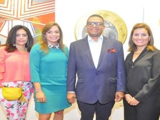 Pilar Asmar, Aurora Diaz, Alescar Ortiz y Ana Virginia Berrido.