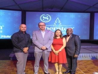 Emil Perez, Luis Padilla, Gregoria Enke y Miguel Peguero