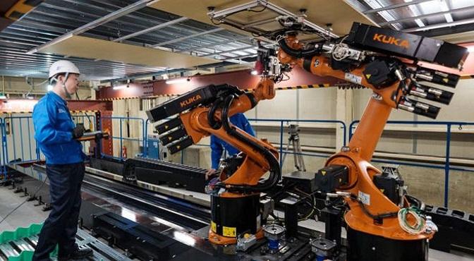 Los robots podrían volverse comunes en las construcciones, a medida que las compañías vayan reemplazando a los trabajadores que están envejeciendo.